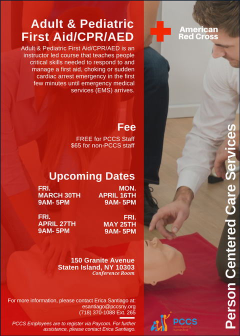 Basic Pediatric First Aid, CPR, and AED