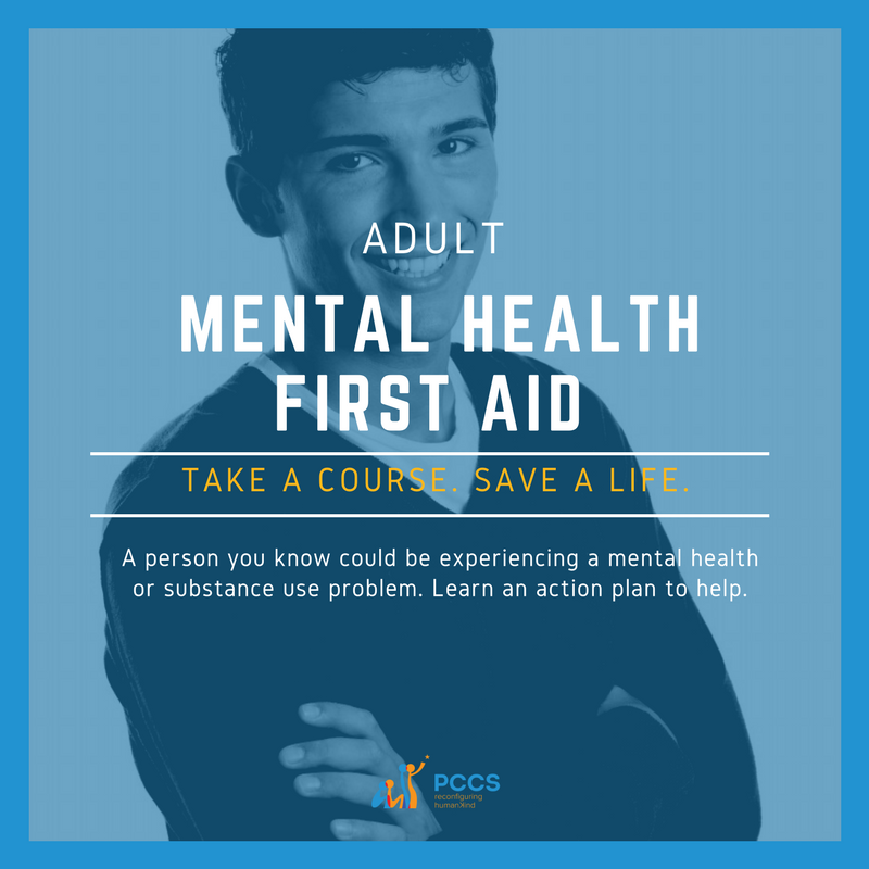 IMAGE ADULT MENTAL HEALTH FIRST AID®
