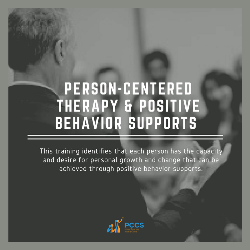 IMAGE PERSON-CENTERED THERAPY & POSITIVE BEHAVIOR SUPPORTS