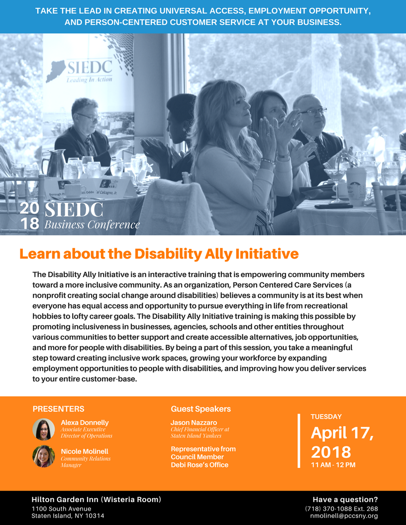 Staten Island Disability Ally Training